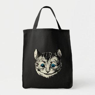 Cheshire Cat - Vintage Alice in Wonderland Tote Bag