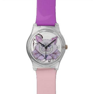 Cheshire Cat Watch Purple