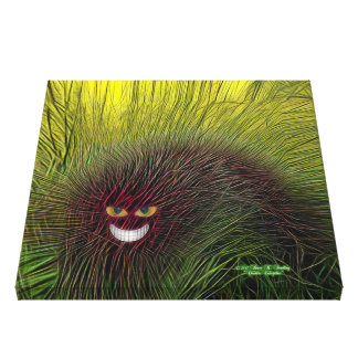 Cheshire Caterpillar Canvas Print