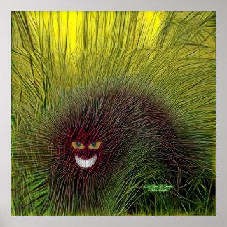Cheshire Caterpillar Poster Print
