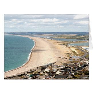 Chesil Beach, Weymouth Card