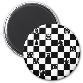 Chess 2 Inch Round Magnet