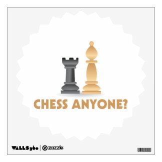 Chess Anyone Chess Pieces Wall Decal