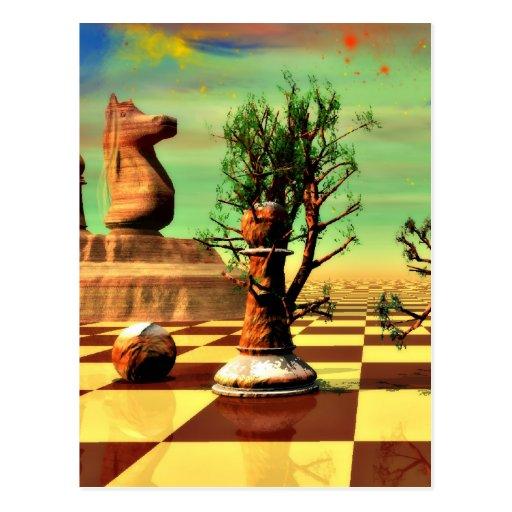 Chess Art Postcards