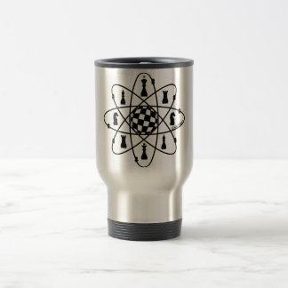 Chess Atom, Chess Matters, Travel Mug