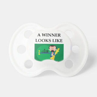 chess baby pacifier