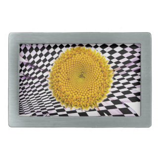 Chess board daisy belt buckle