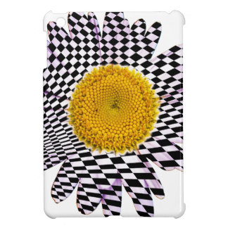 Chess board daisy cover for the iPad mini
