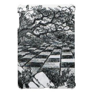 Chess Board in Wonderland iPad Mini Cover