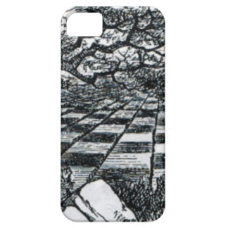 Chess Board in Wonderland iPhone 5 Case