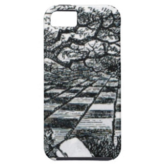 Chess Board in Wonderland iPhone 5 Cases