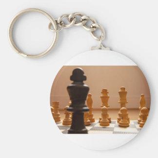 Chess board keychain