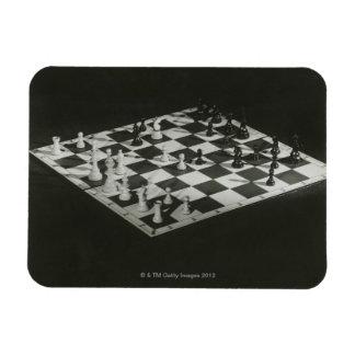 Chess Board Rectangular Photo Magnet