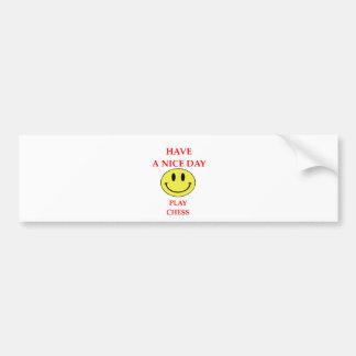 chess bumper sticker