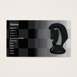 Chess - Business Business Card