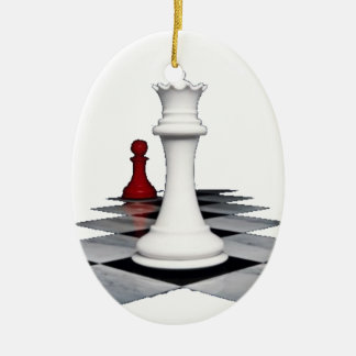 Chess Ceramic Ornament