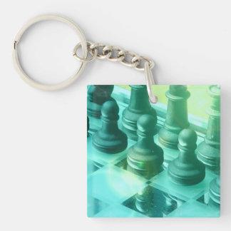 Chess Champ Keychain Acrylic Keychains