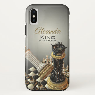 Chess Champion Chess Board iPhone X Case