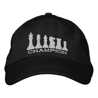 Chess Champion Embroidered Hat