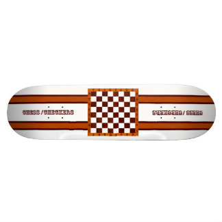 chess/checkers skateboard