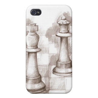 Chess Club iPhone 4 Case