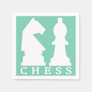 CHESS custom color paper napkins