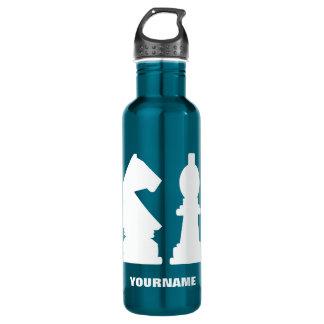 CHESS custom monogram water bottles