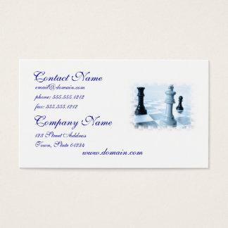 Chess Design Business Card