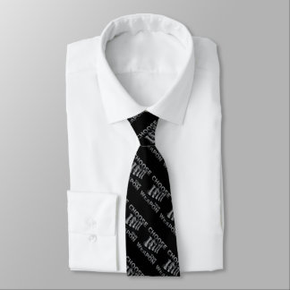 Chess Game Choose Your Weapon Tie