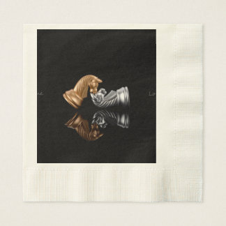 Chess Game Disposable Napkin