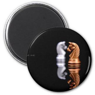 Chess Game Hobby 2 Inch Round Magnet