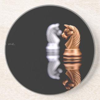 Chess Game Hobby Coaster