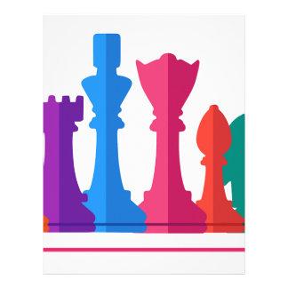 Chess Game Letterhead