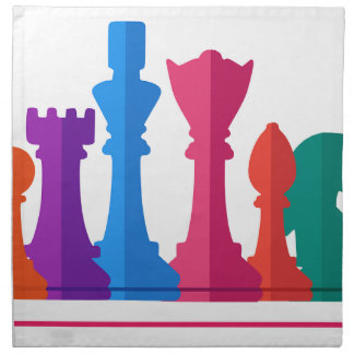 Chess Game Napkin
