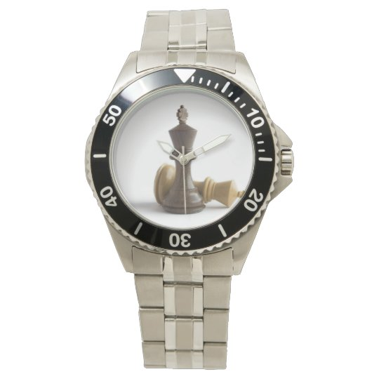 Chess Game Over Wrist Watches