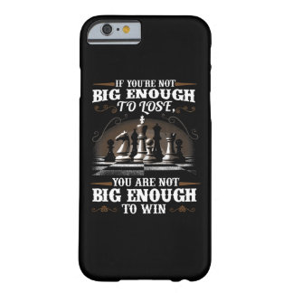Chess Game Play Barely There iPhone 6 Case