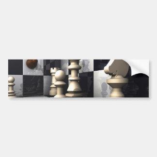 Chess Game Play Bumper Sticker