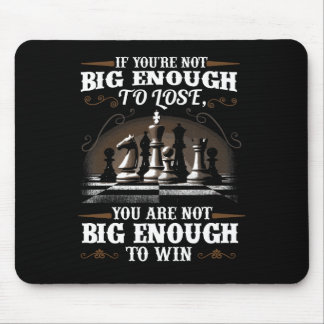 Chess Game Play Mouse Pad