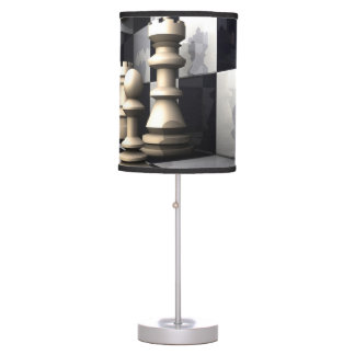 Chess Game Style Desk Lamps