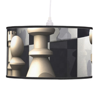 Chess Game Style Hanging Lamp