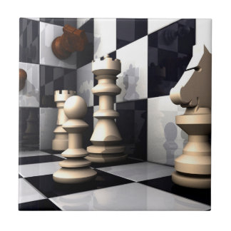 Chess Game Style Tile