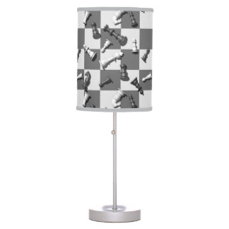 Chess Game Table Lamp