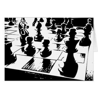 Chess Gamer Carte De Vœux