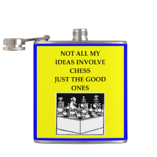 CHESS HIP FLASK