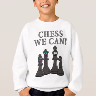 Chess incoming goods CAN Sweatshirt