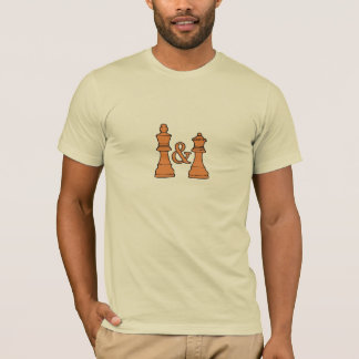 Chess King and Queen T-shirt