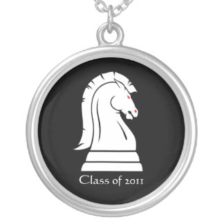Chess Knight Horse Class of Graduation Necklace