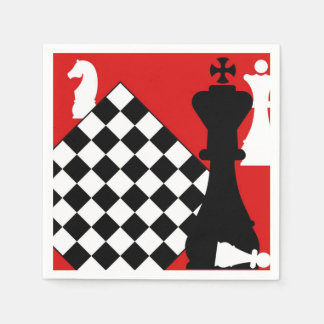 Chess Master Disposable Napkins