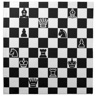 Chess Napkin