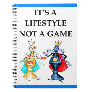 chess notebook